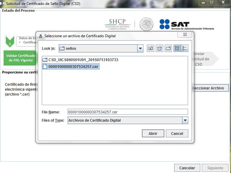 Capture4 - ¿Cómo tramitar mi Certificado de Sello Digital (CSD) con el SAT?