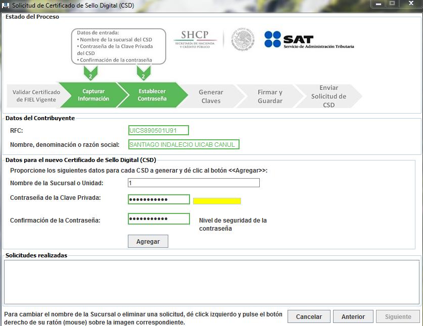 Capture7 - ¿Cómo tramitar mi Certificado de Sello Digital (CSD) con el SAT?