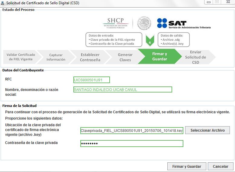 Capture10 - ¿Cómo tramitar mi Certificado de Sello Digital (CSD) con el SAT?