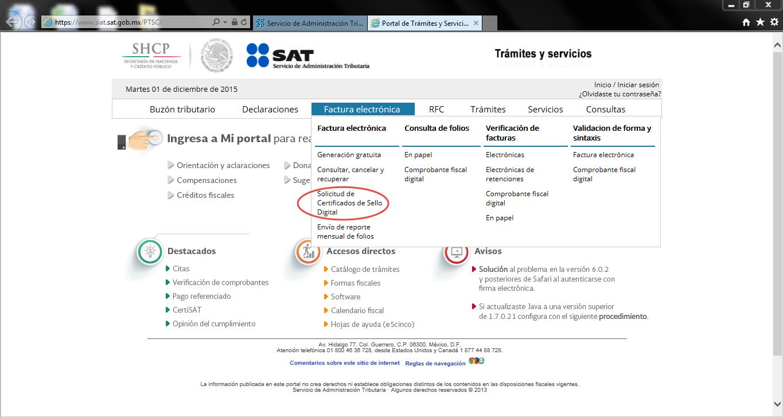 Capture14 - ¿Cómo tramitar mi Certificado de Sello Digital (CSD) con el SAT?