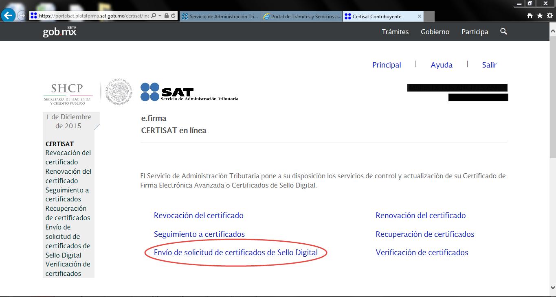 Capture17 - ¿Cómo tramitar mi Certificado de Sello Digital (CSD) con el SAT?